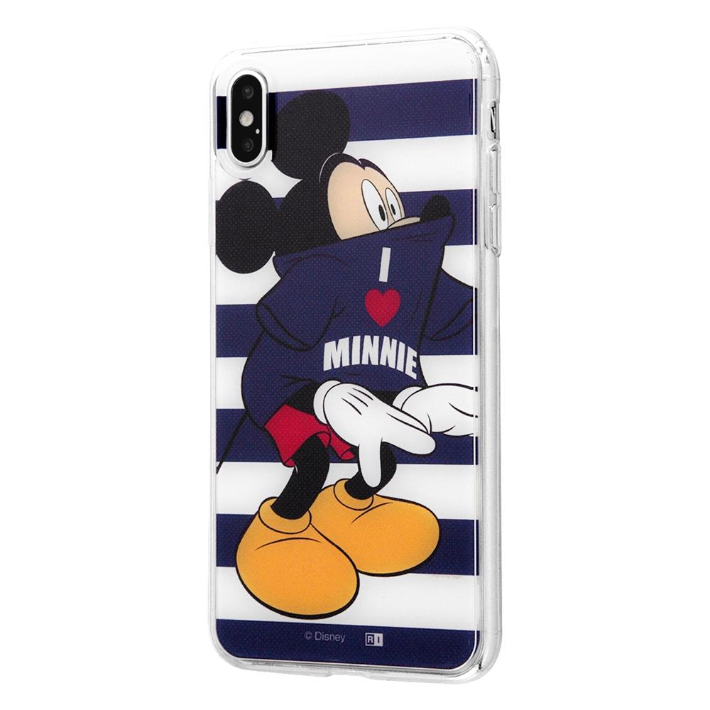 iPhone XS Max /『ディズニーキャラクター』/TPUケース+背面パネル/『ペアルック』_1【受注生産】