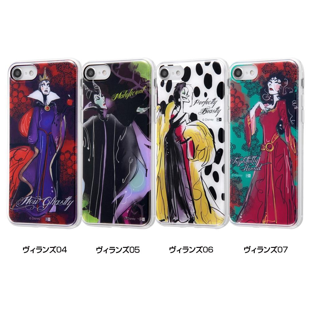 iPhone SE(第2世代)/8/7/『ディズニーキャラクター』/TPUケース+背面パネル/『ヴィランズ』_05【受注生産】