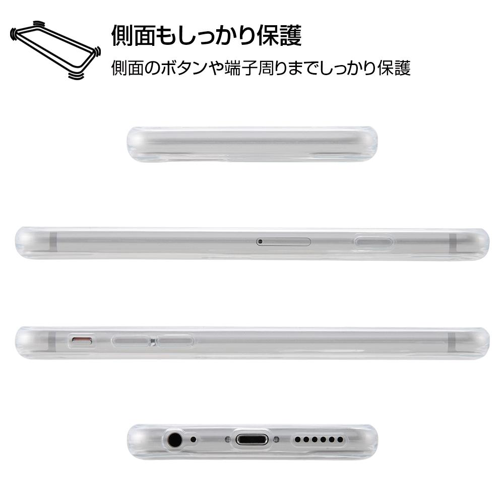 iPhone 6s / 6 /『ディズニーキャラクター』/TPUケース+背面パネル/『プルート/総柄』_01【受注生産】