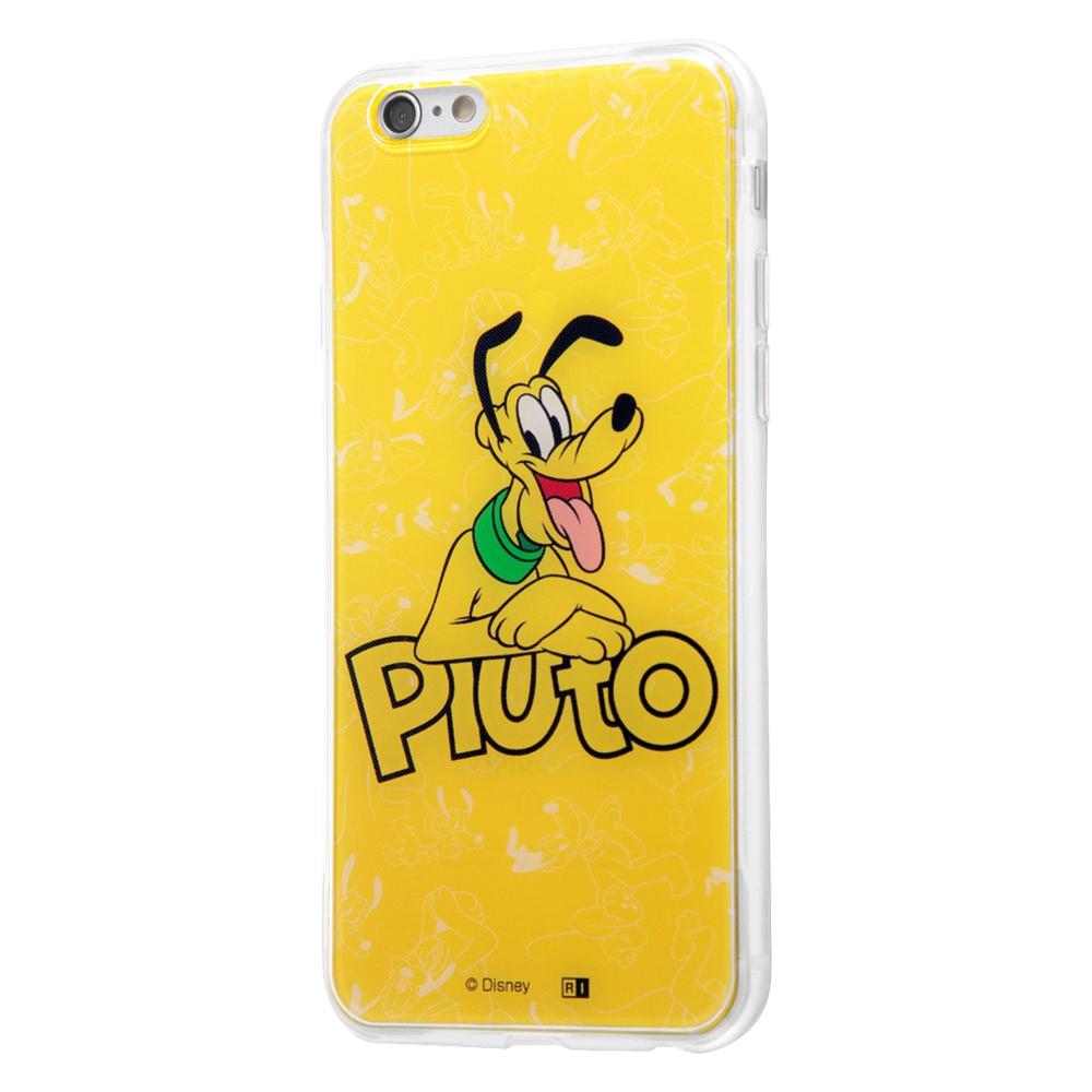 iPhone 6s / 6 /『ディズニーキャラクター』/TPUケース+背面パネル/『プルート/My name』【受注生産】
