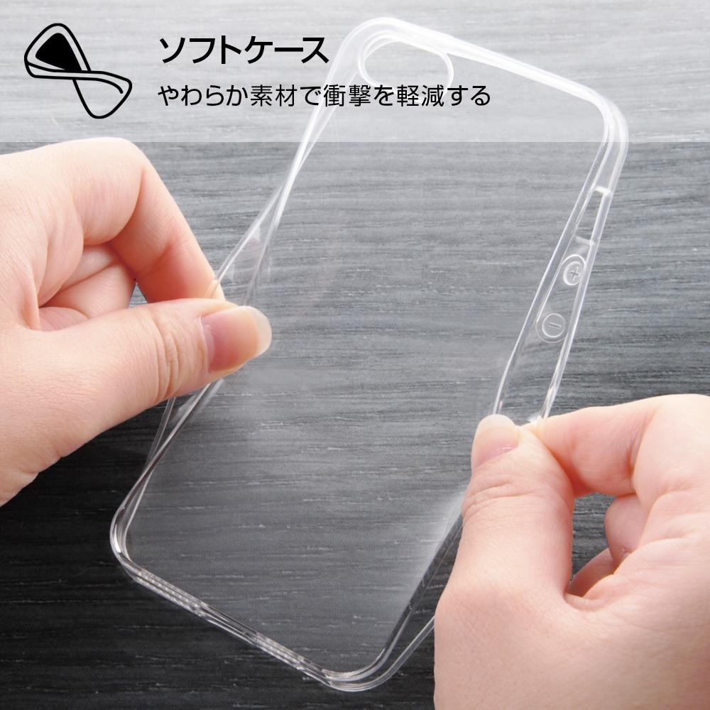 iPhone SE / 5s / 5 /『ディズニーキャラクター』/TPUケース+背面パネル/『プルート/総柄』_01【受注生産】