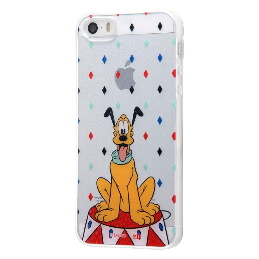 iPhone SE / 5s / 5 /『ディズニーキャラクター』/TPUケース+背面パネル/『プルート/On Stage』【受注生産】