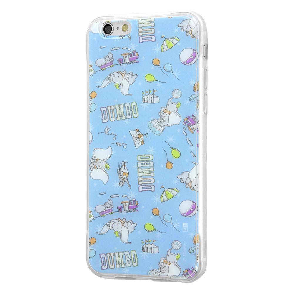 iPhone 6s / 6 /『ディズニーキャラクター』/TPUケース+背面パネル/『ダンボ/総柄』_02【受注生産】