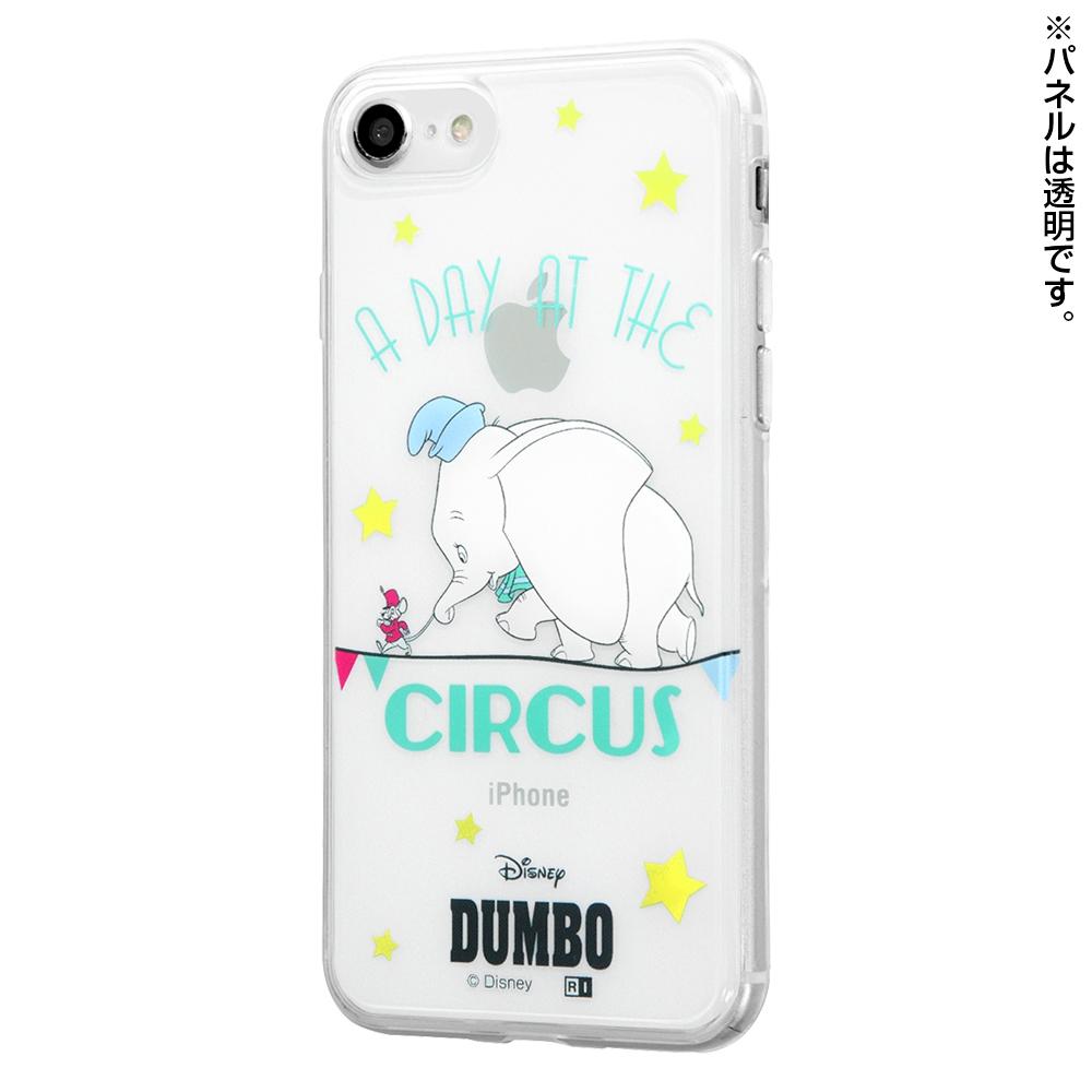 iPhone SE(第2世代)/8/7/『ディズニーキャラクター』/TPUケース+背面パネル/『ダンボ/成功の入口』【受注生産】