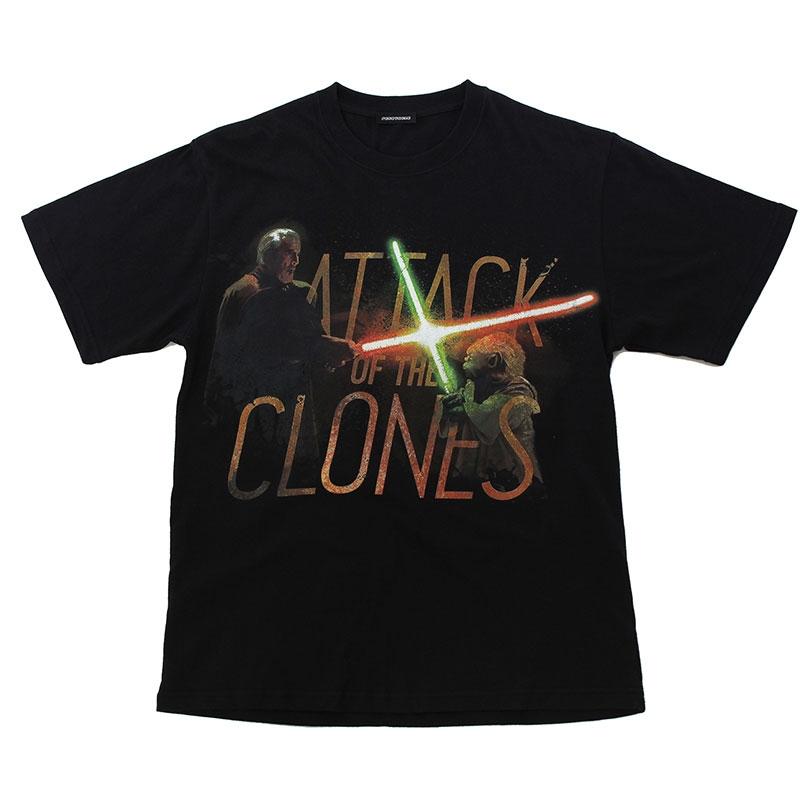 【パニカムトーキョー】スター・ウォーズ エピソード2/クローンの攻撃 Tシャツ ブラック L