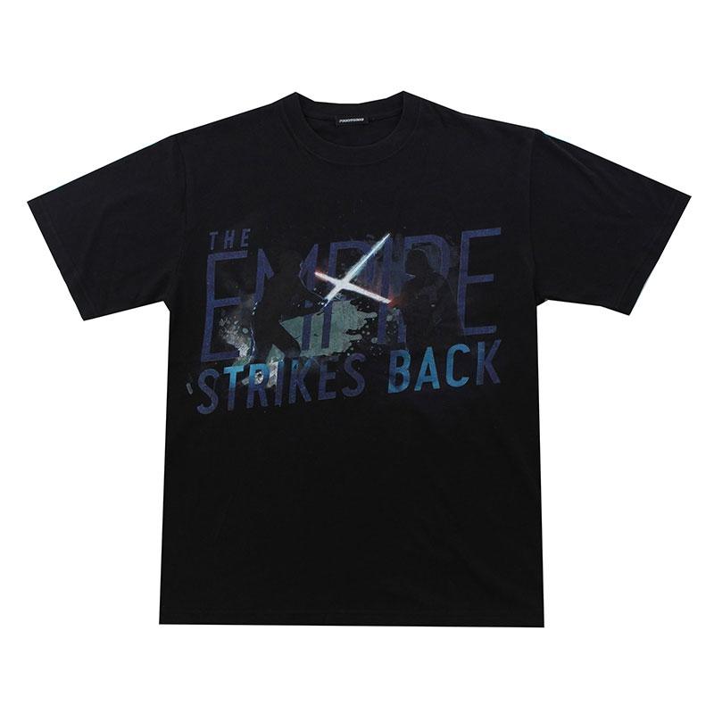 【パニカムトーキョー】スター・ウォーズ エピソード5/帝国の逆襲 Tシャツ ブラック M