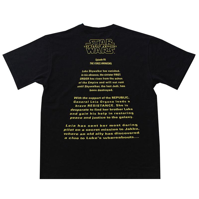 【パニカムトーキョー】スター・ウォーズ エピソード7/フォースの覚醒 Tシャツ ブラック L