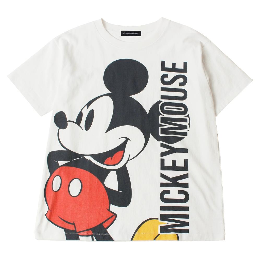 ミッキーマウス BIGプリントTシャツ
