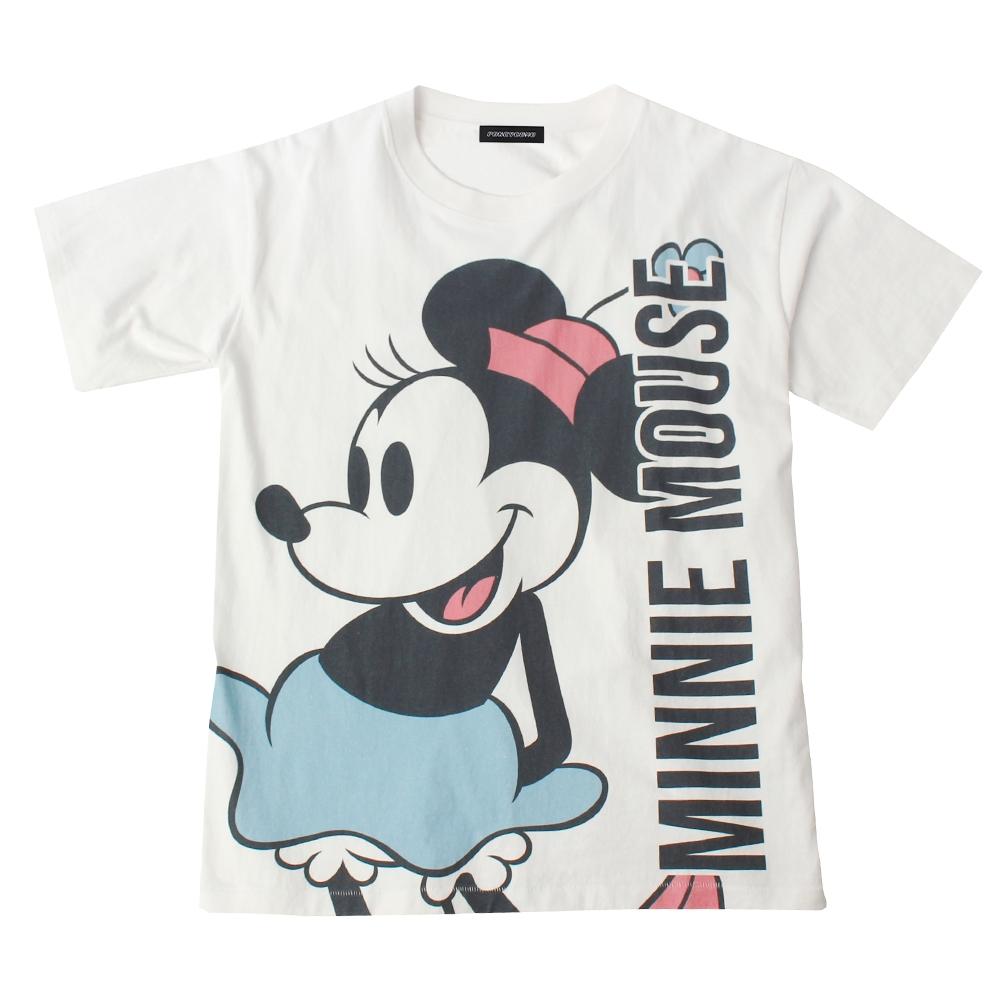 ミニーマウス BIGプリントTシャツ