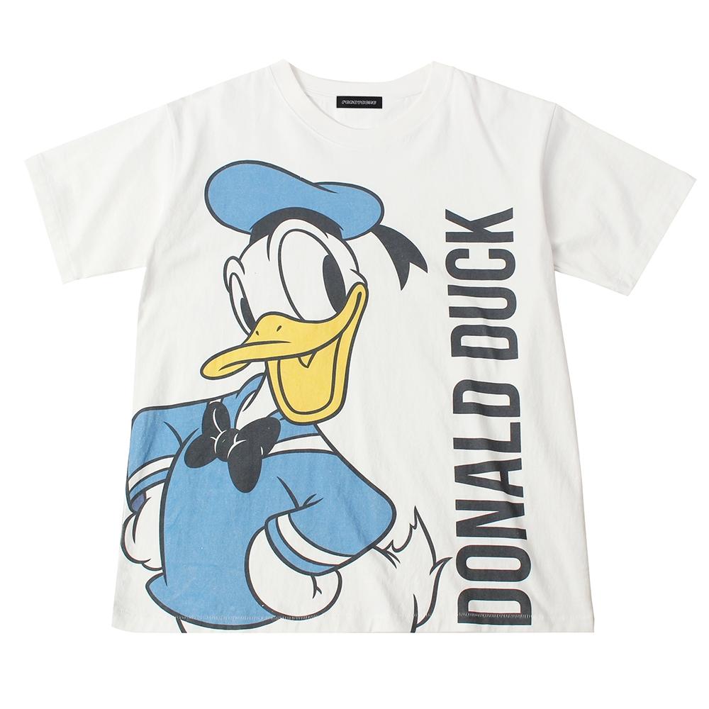 ドナルドダック BIGプリントTシャツ