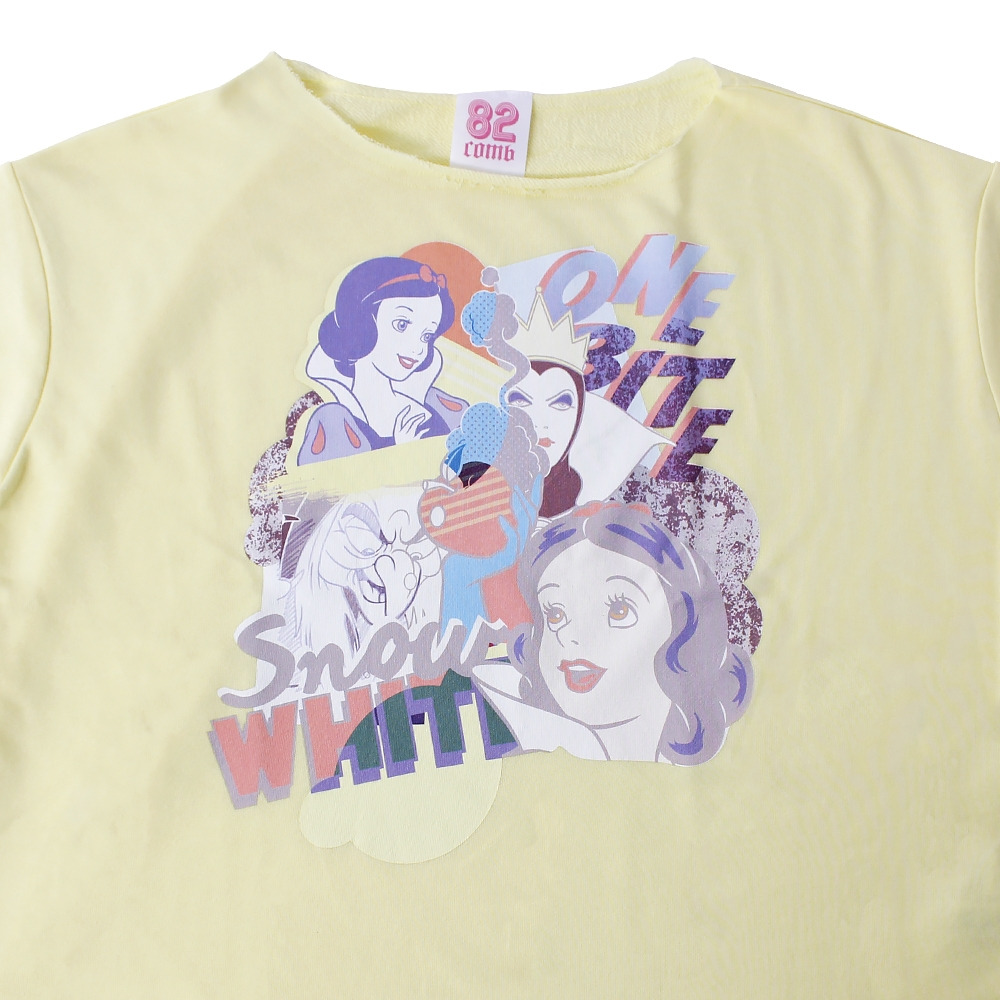 白雪姫 ディズニープリンセス/ショート丈スウェット(82comb)