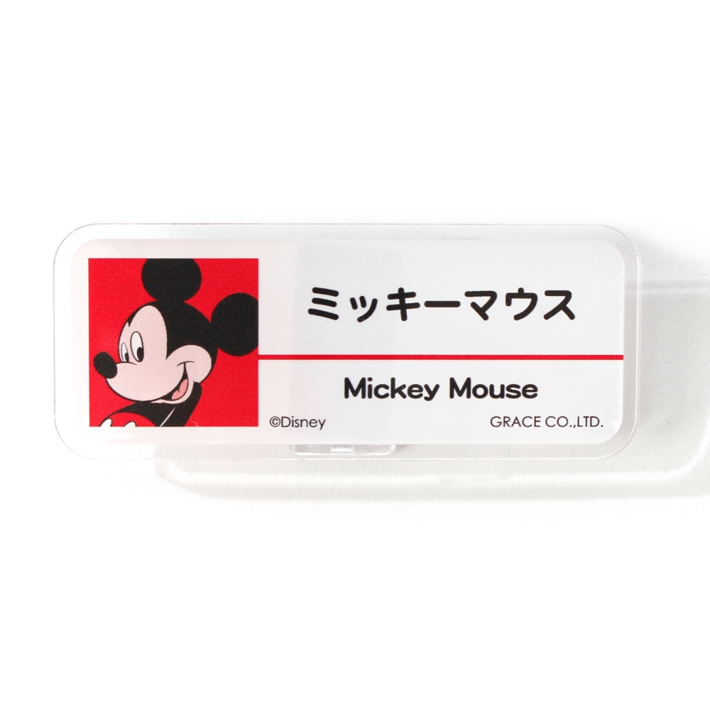 ミッキーマウス/アクリルバッジ