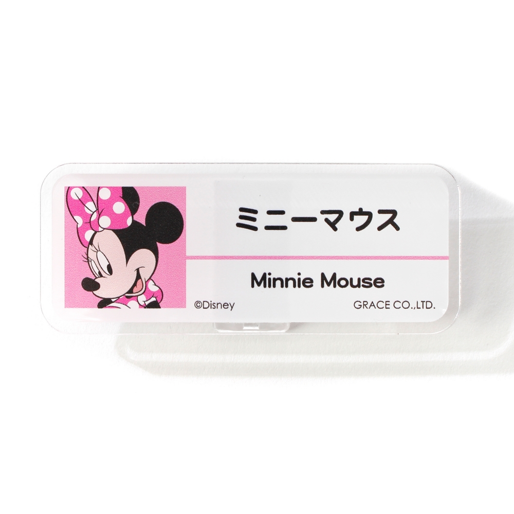 ミニーマウス/アクリルバッジ