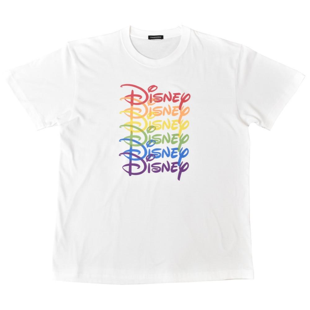 【受注/8月中旬よりお届け】ディズニーロゴ/ロゴ/Tシャツ(PONEYCOMB TOKYO)