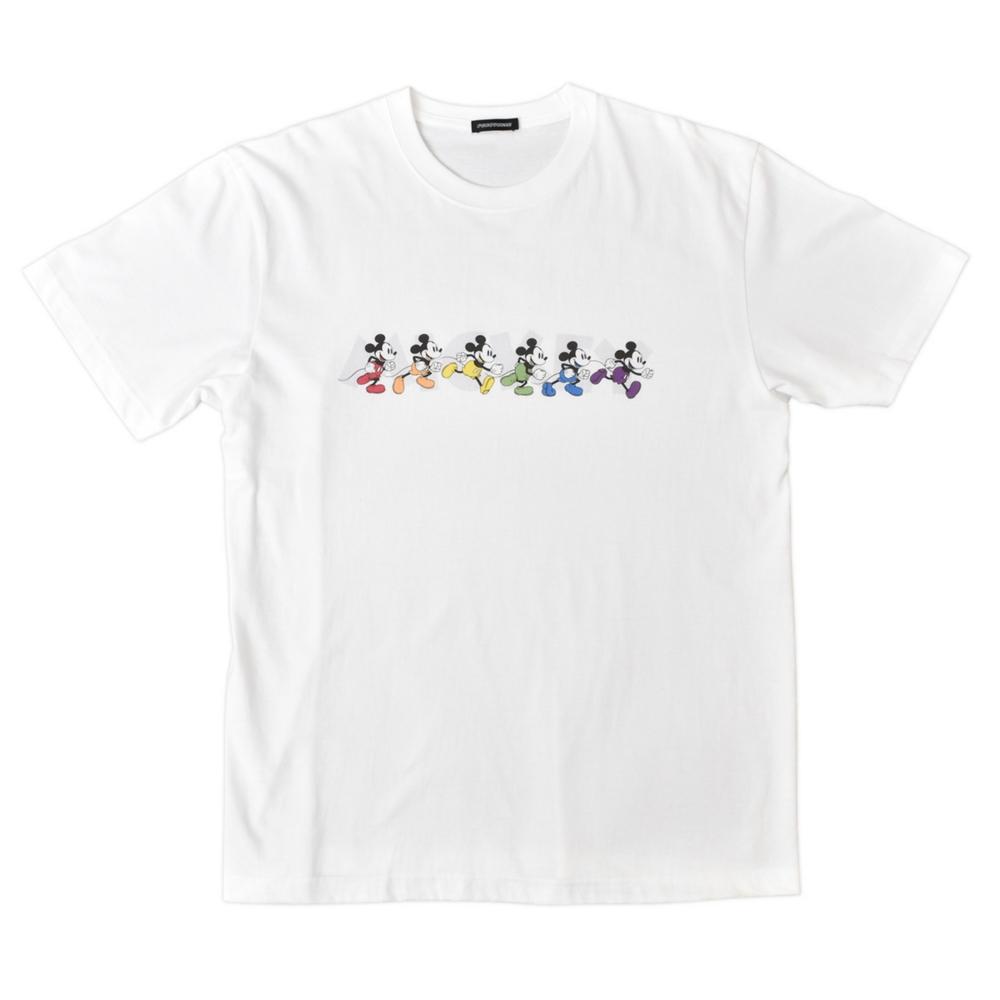 【受注/8月中旬よりお届け】ミッキーマウス/Tシャツ(PONEYCOMB TOKYO)