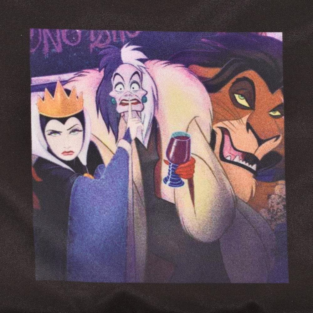 ディズニーヴィランズ(女王、クルエラ、スカー)/巾着 E(82comb)