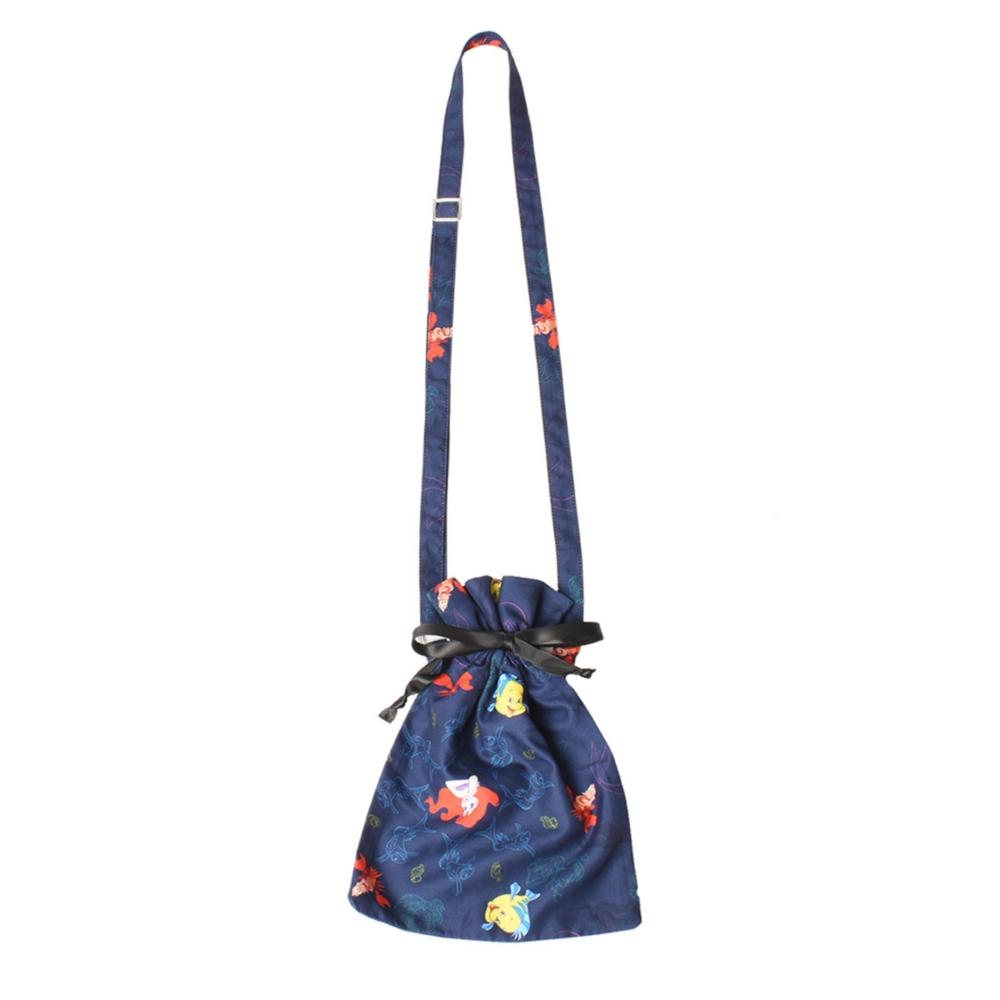 リトル・マーメイド/総柄巾着バッグ(82comb)