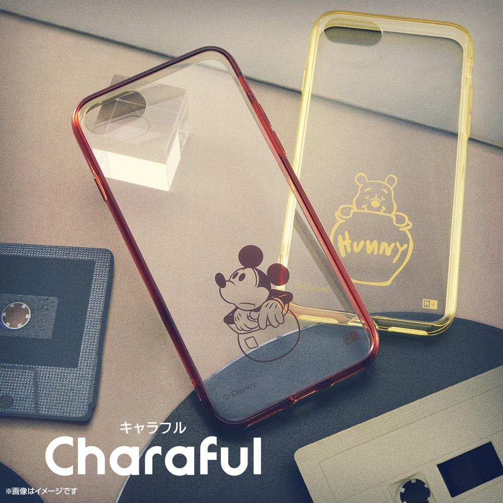Xperia 10 II 『ディズニーキャラクター』/ハイブリッドケース Charaful/ミッキー