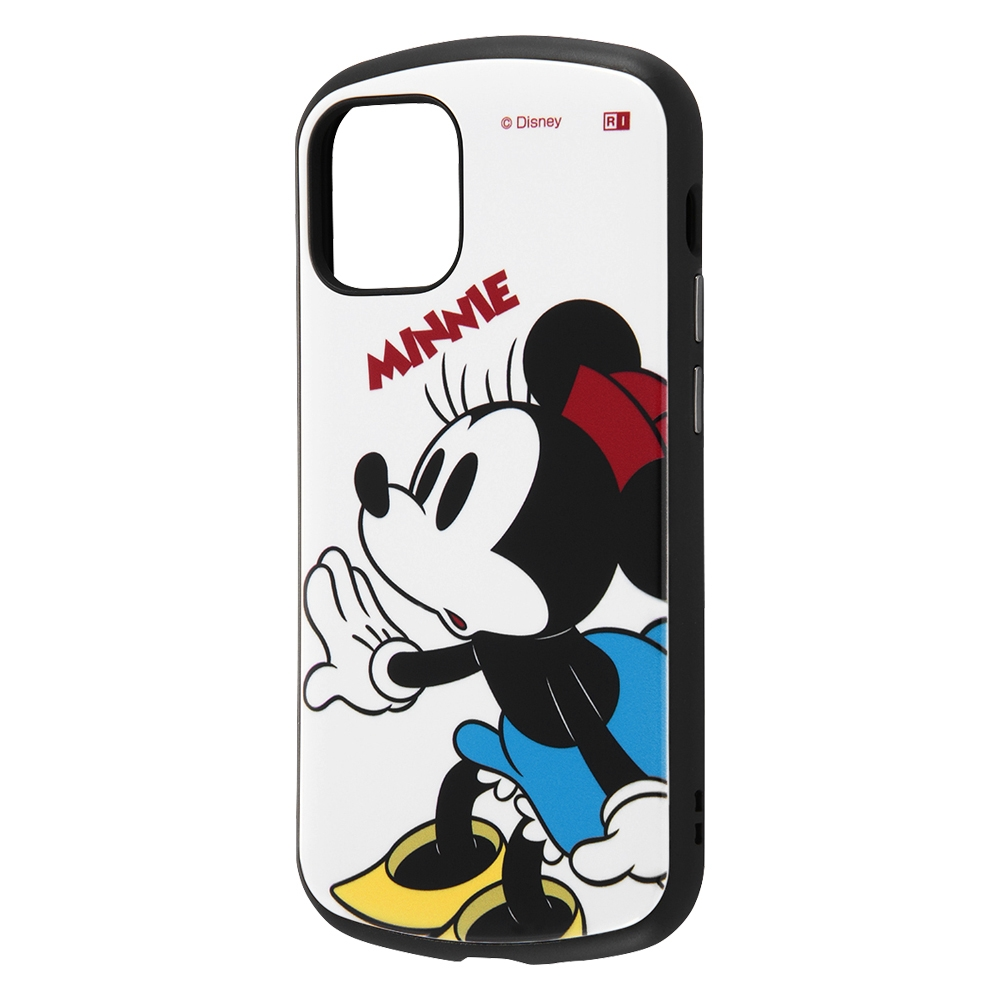 iPhone 12 mini 『ディズニーキャラクター』/耐衝撃ケース ProCa/『ミニーマウス』