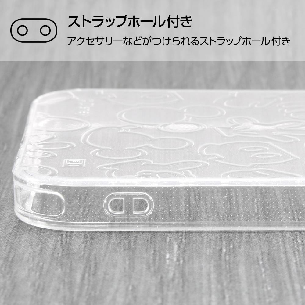 iPhone 12 / 12 Pro 『ディズニーキャラクター』/TPUソフトケース キラキラ/『ミッキーマウス』