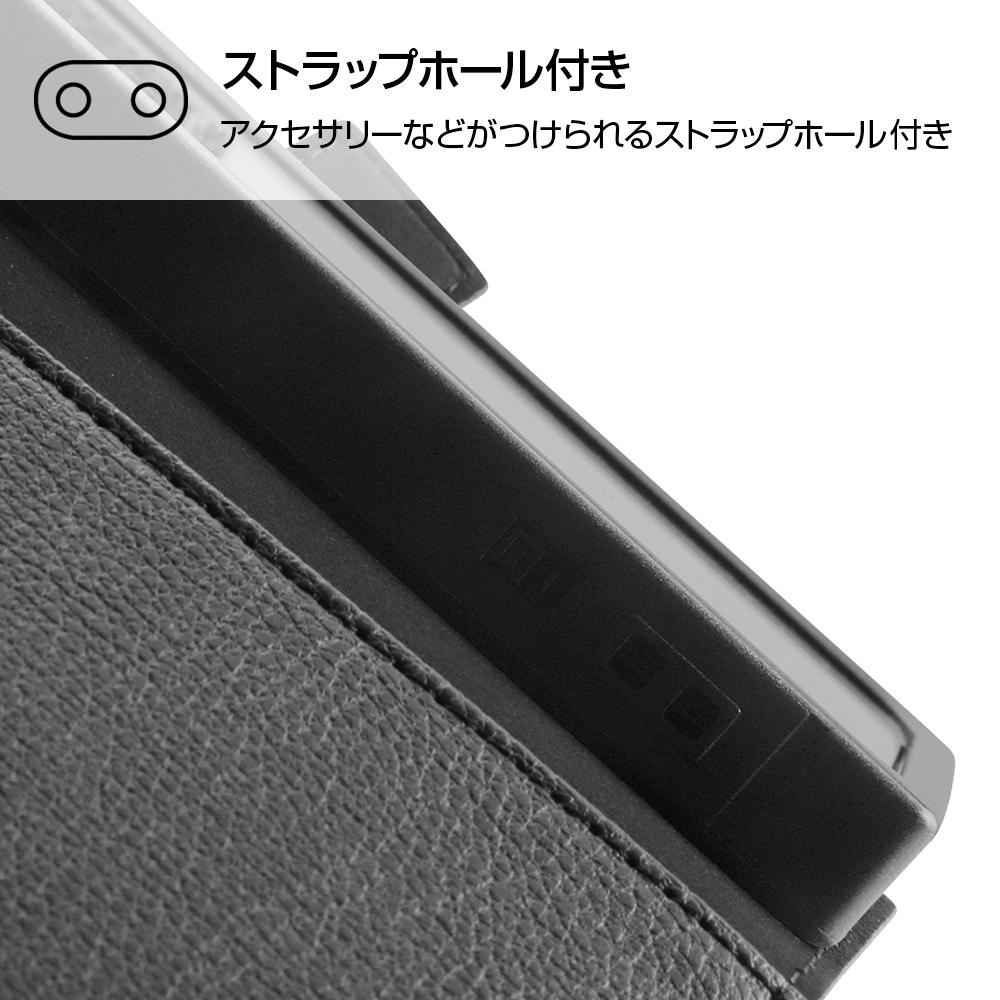 Xperia 5 II 『ディズニーキャラクター』/耐衝撃 手帳型レザーケース/『プー』