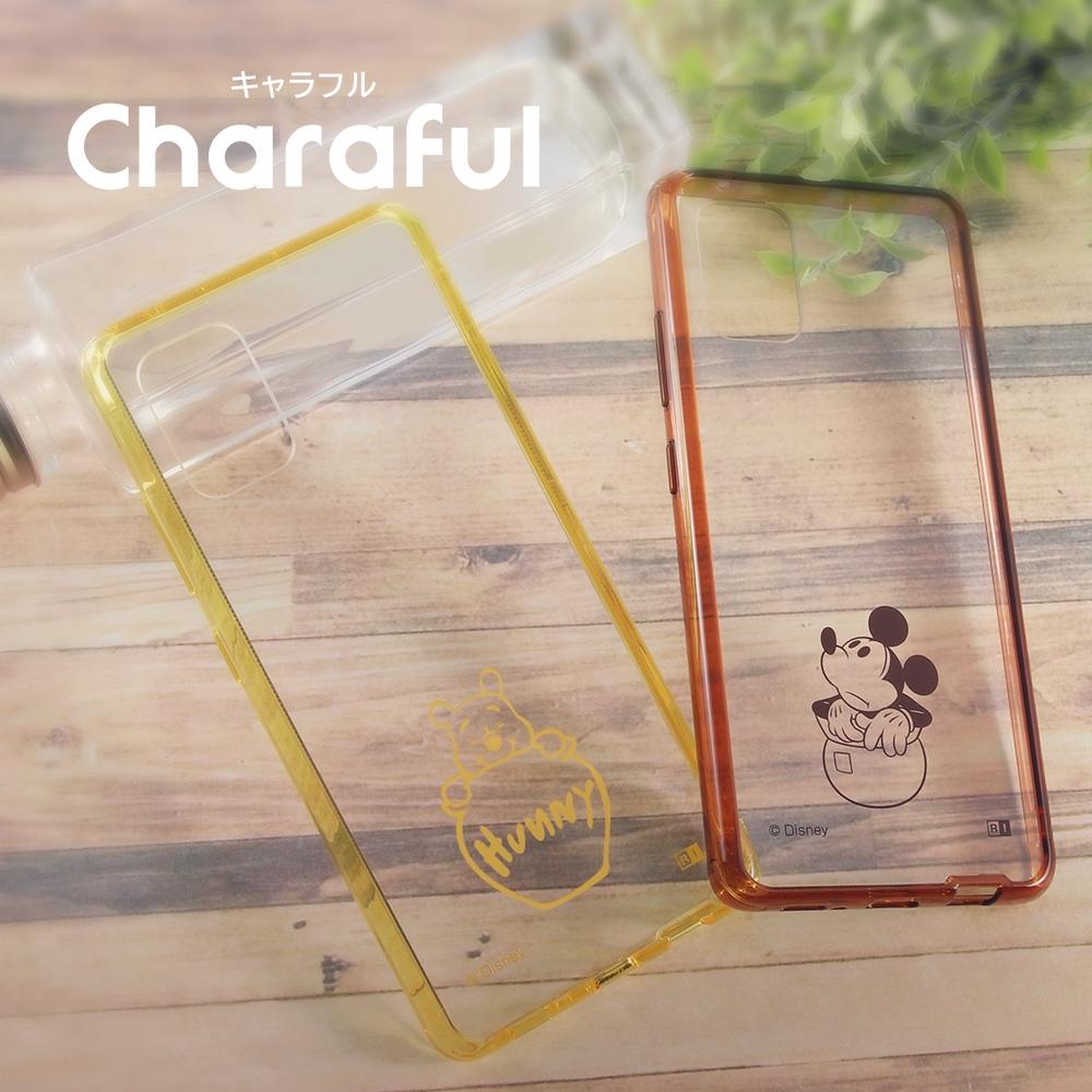 Galaxy A51 5G 『ディズニーキャラクター』/ハイブリッドケース Charaful/『ミッキーマウス』