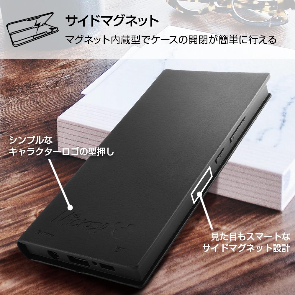 Galaxy A51 5G 『ディズニーキャラクター』/耐衝撃 手帳型レザーケース サイドマグネット/『ミッキーマウス』