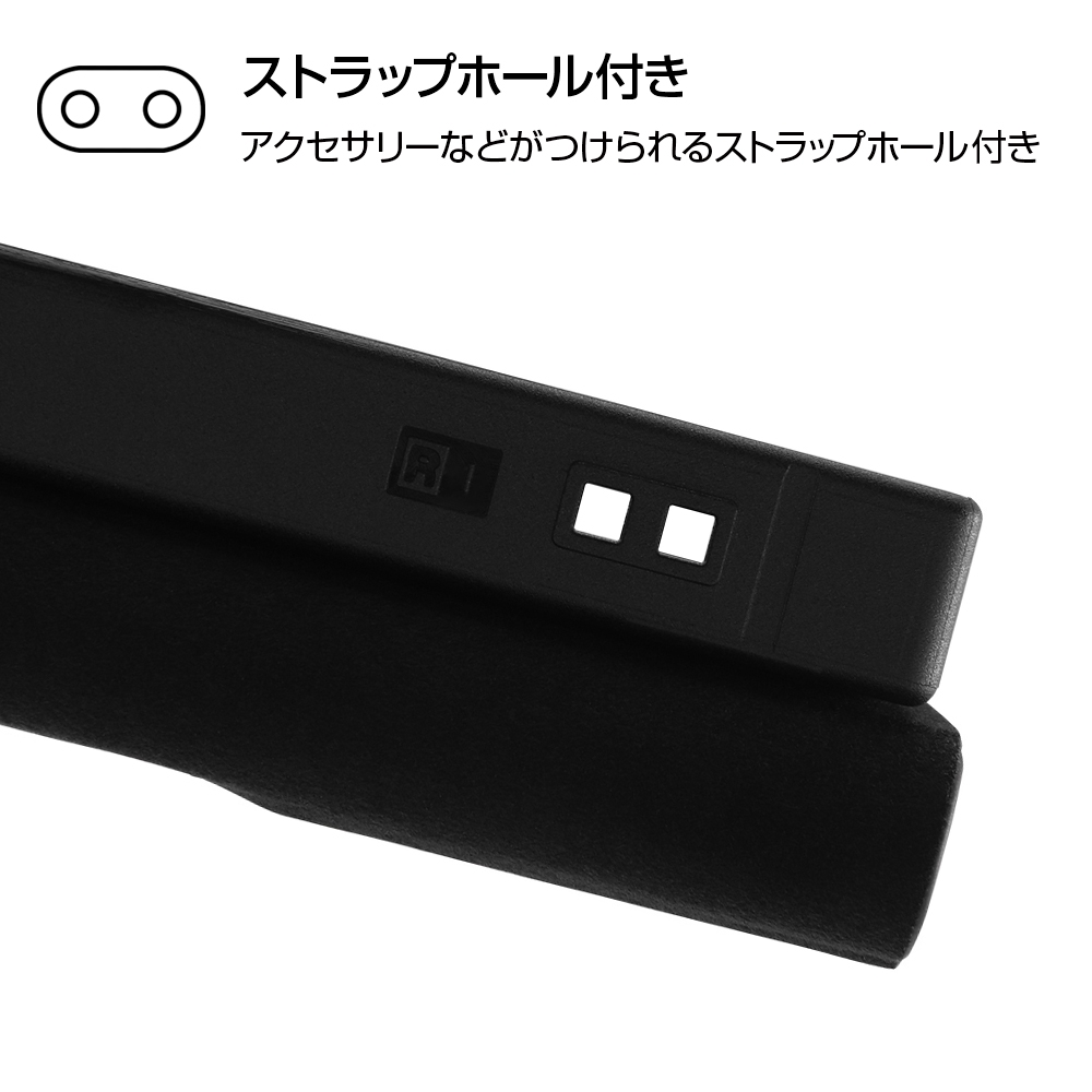 AQUOS sense4 『ディズニーキャラクター』/耐衝撃 手帳型レザーケース サイドマグネット/『ミニーマウス』