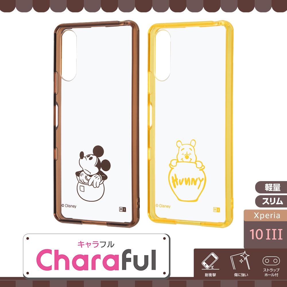 Xperia 10 III 『ディズニーキャラクター』/ハイブリッドケース Charaful/ミッキーマウス