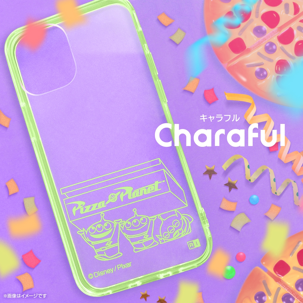 Xperia 10 III 『ディズニー・ピクサーキャラクター』/ハイブリッドケース Charaful/エイリアン