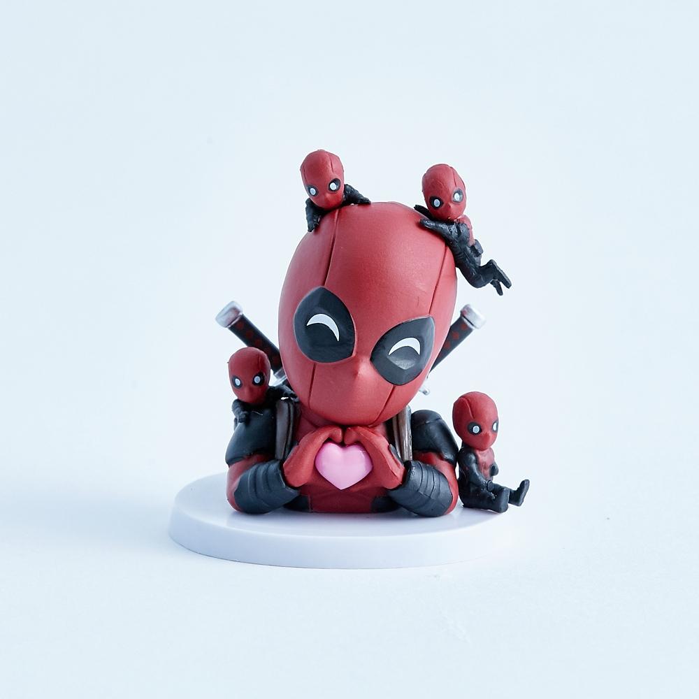 【ビーストキングダム】ミニ・エッグアタック デッドプール(夢見る俺ちゃん版)?
