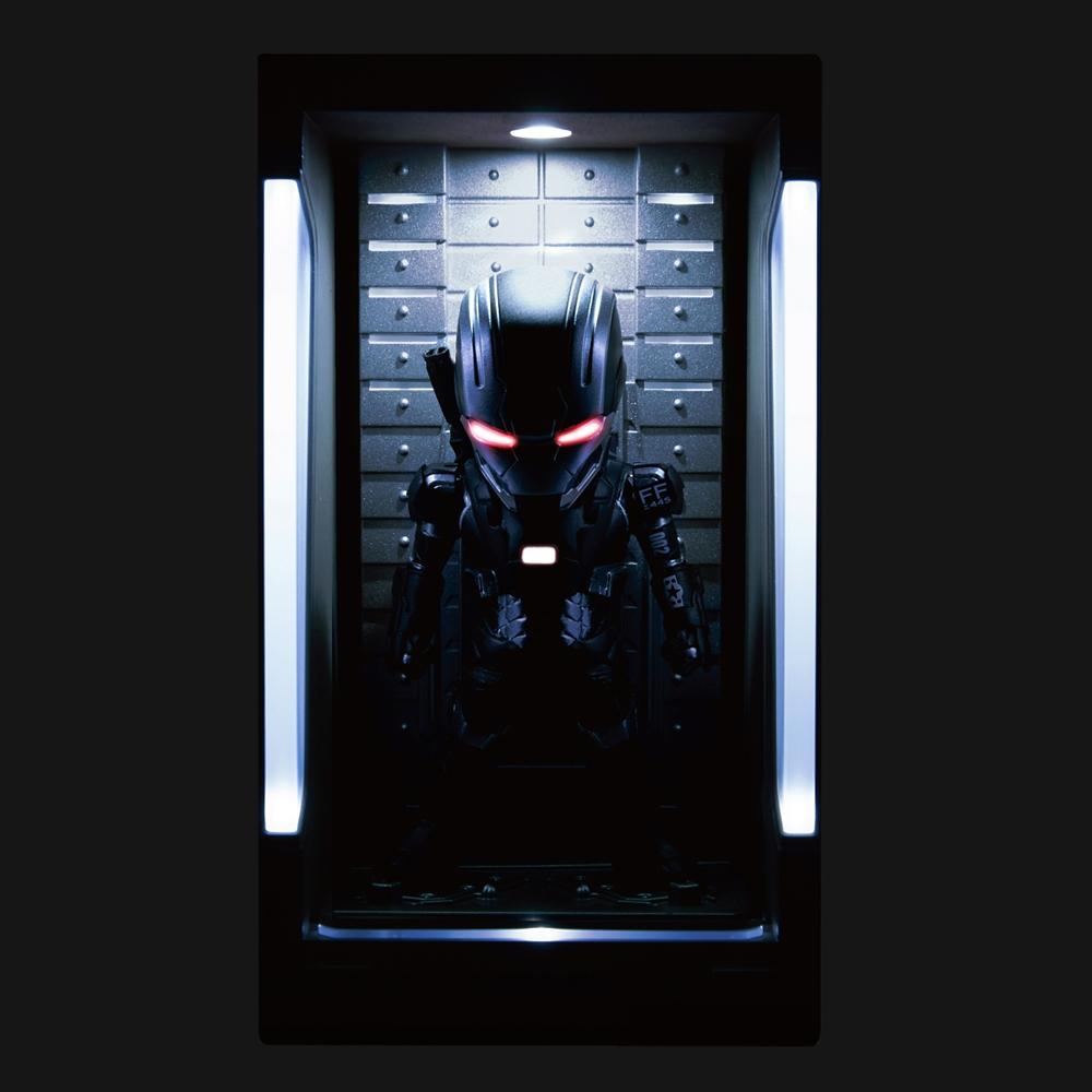 【ビーストキングダム】ミニ・エッグアタック アイアンマン3 シリーズ2 ウォーマシン・マーク2