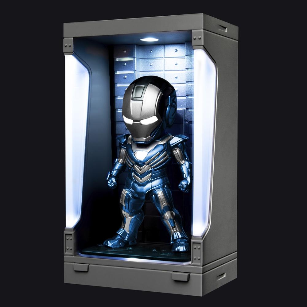 【ビーストキングダム】ミニ・エッグアタック アイアンマン3 シリーズ2 アイアンマン・マーク30 (ブルー・スティール)