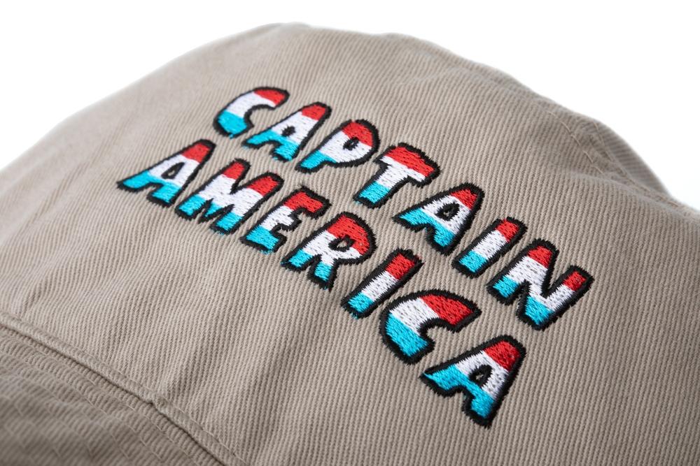 【BEAMS】キャプテン・アメリカ ワッペンHAT NagabaYu