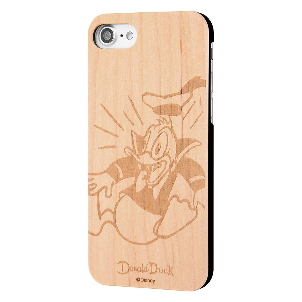 iPhone SE(第2世代)/8/7 ディズニーキャラクター/ウッドケース /ドナルド