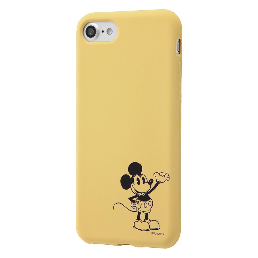 iPhone SE(第2世代)/8/7 ディズニーキャラクター/シリコンケース カーヴィング /ミッキー