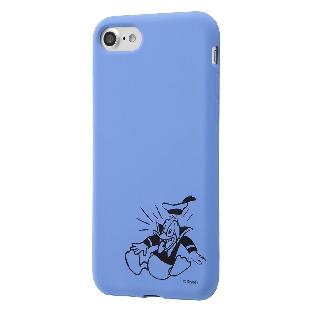 iPhone SE(第2世代)/8/7 ディズニーキャラクター/シリコンケース カーヴィング /ドナルド