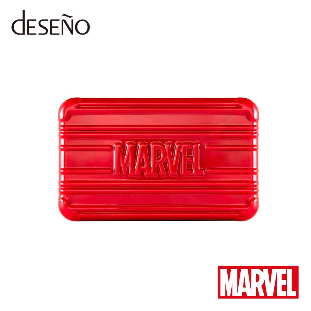 【deseno】マーベル スパイダーマン クラッチバッグ 赤
