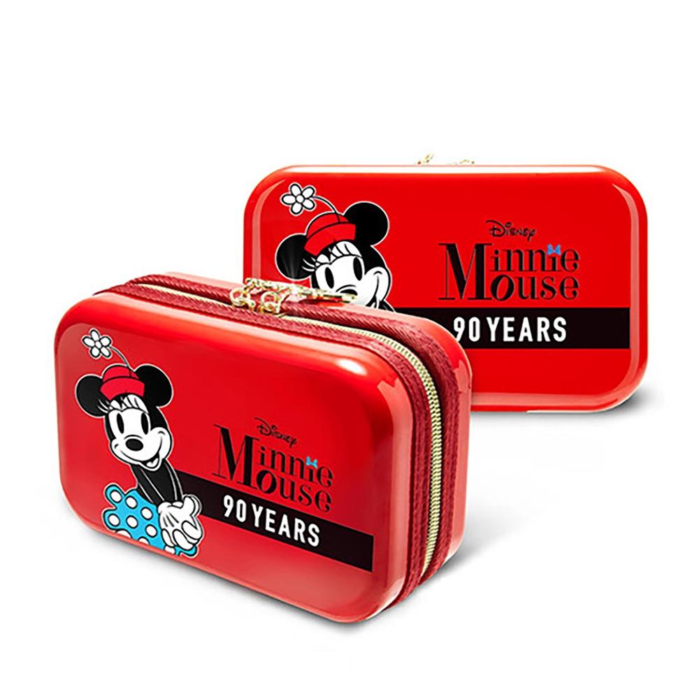 【deseno】Disney ミニーマウス クラッチバッグ レッド