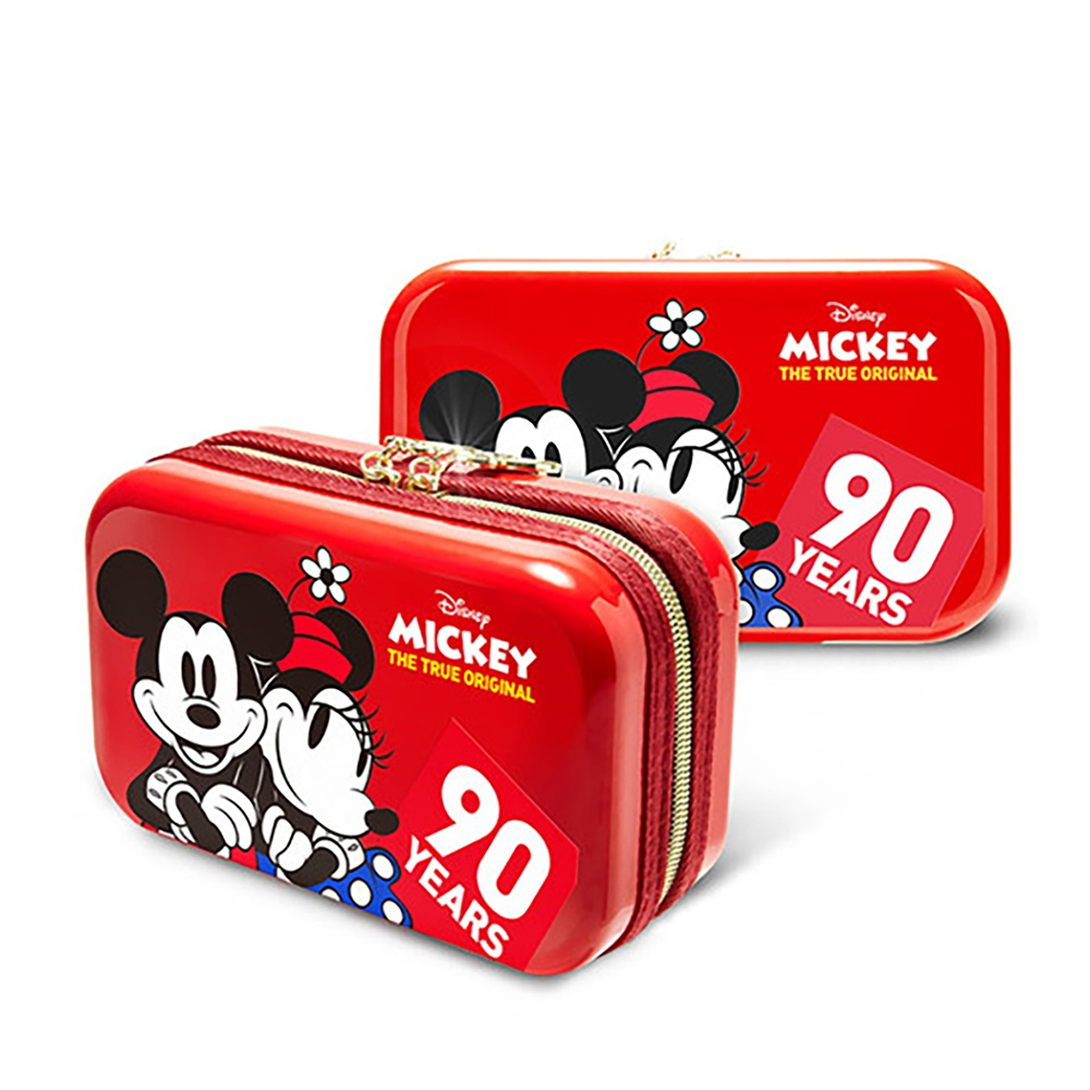 【deseno】Disney ミニーマウス クラッチバッグ スィートレッド