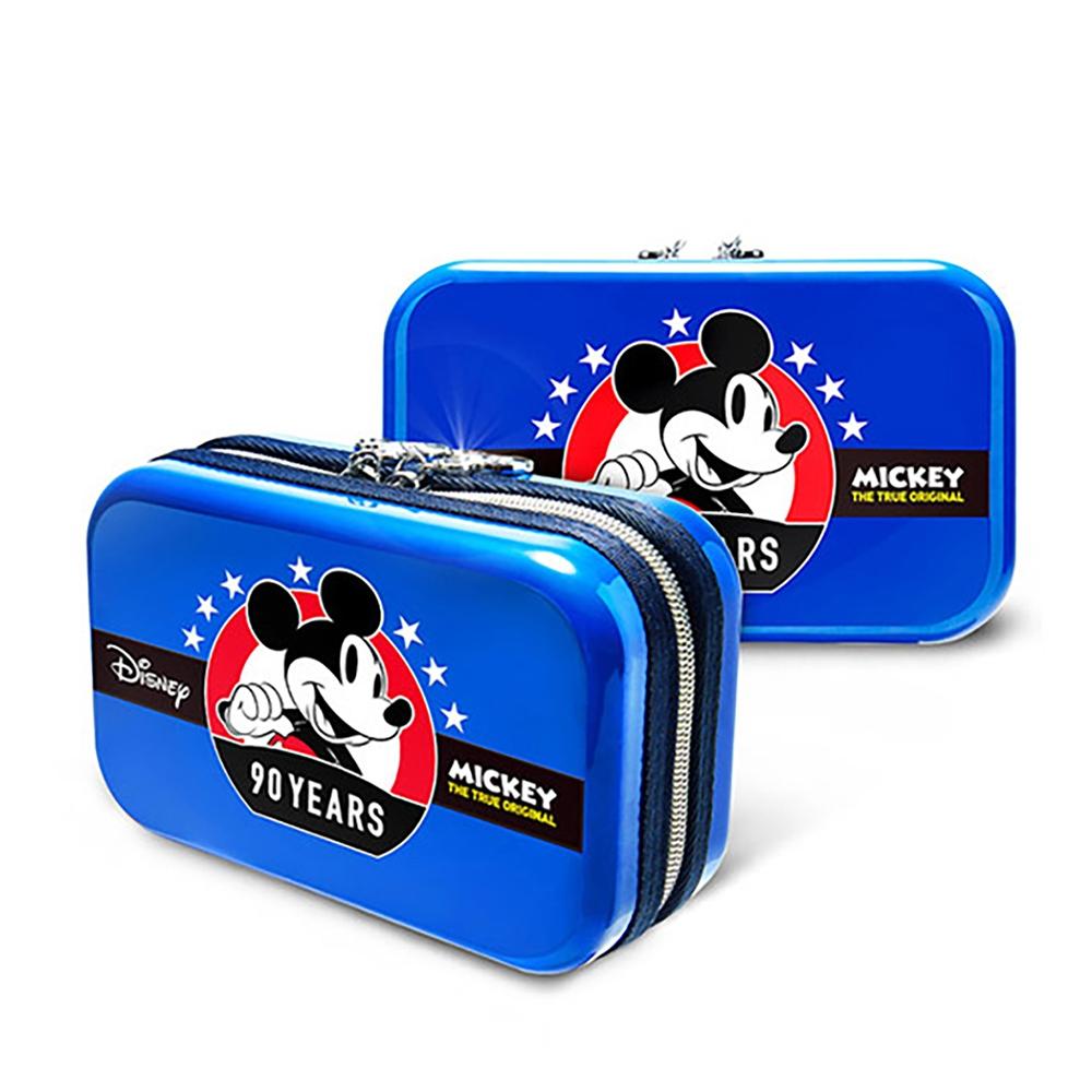 【deseno】Disney ミッキーマウス クラッチバッグ ブルー
