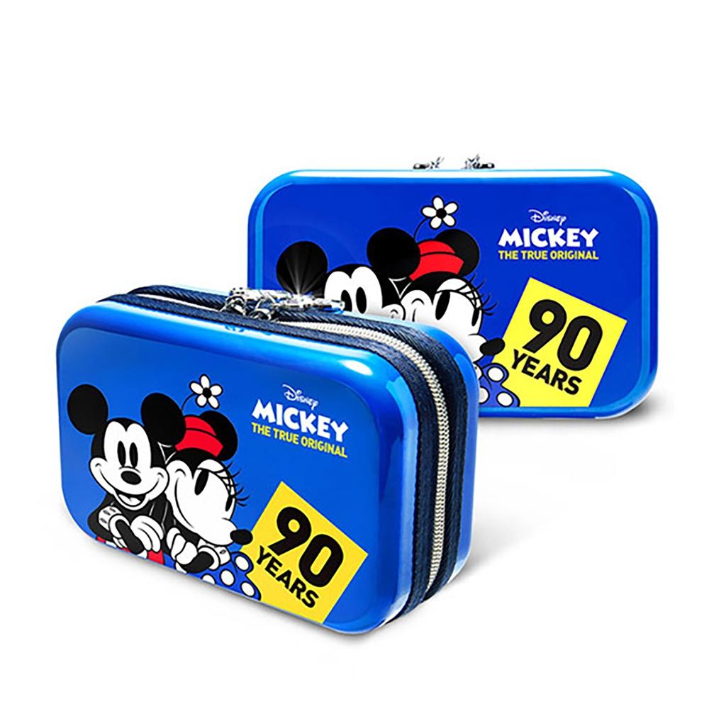 【deseno】Disney ミッキーマウス クラッチバッグ スィートブルー