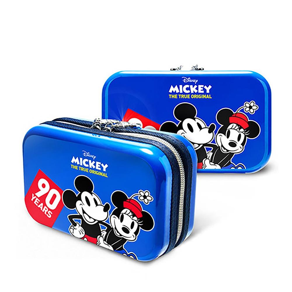 【deseno】Disney ミッキーマウス クラッチバッグ クラシックブルー
