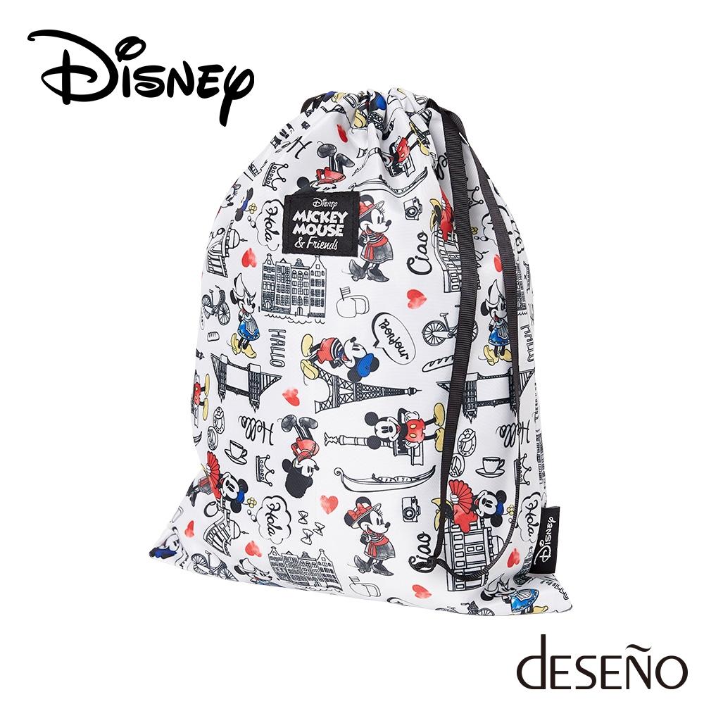 【deseno】Disney ミッキーマウス 収納袋5点セット
