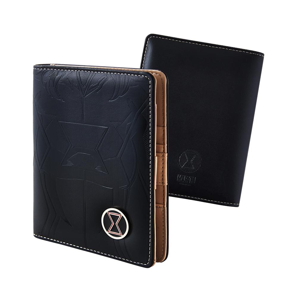 【deseno】マーベル ブラック・ウィドウ パスポートケース