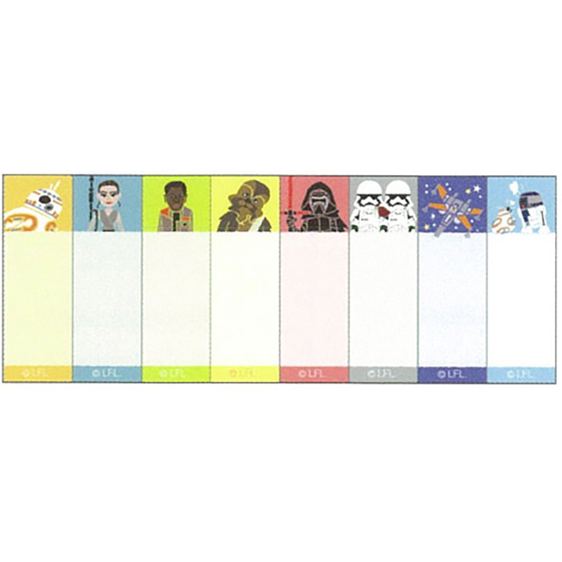 付箋・メモ帳 スター・ウォーズ/フォースの覚醒 デフォルメ