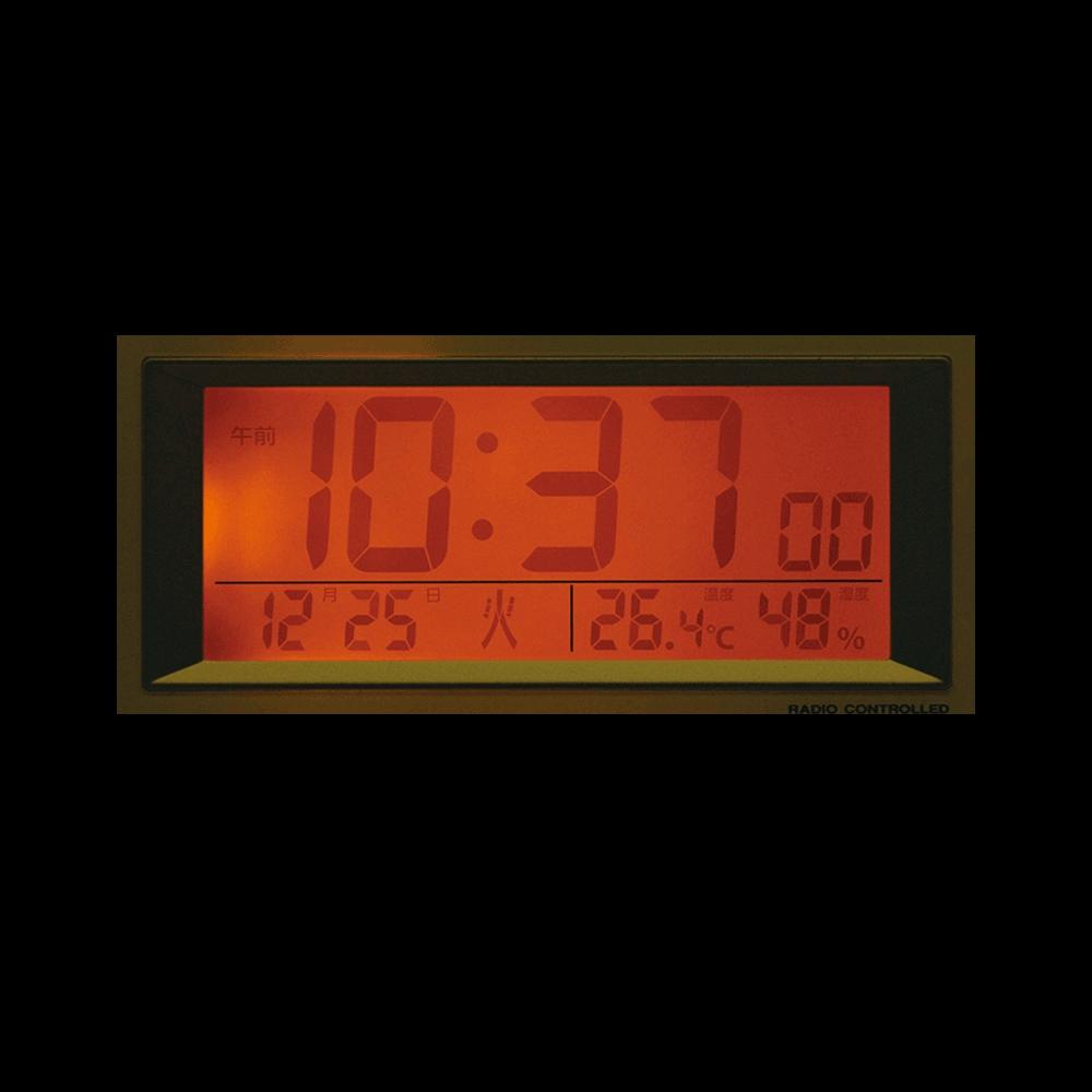 トイ・ストーリー デジタル電波めざまし時計(温度/湿度計付き)