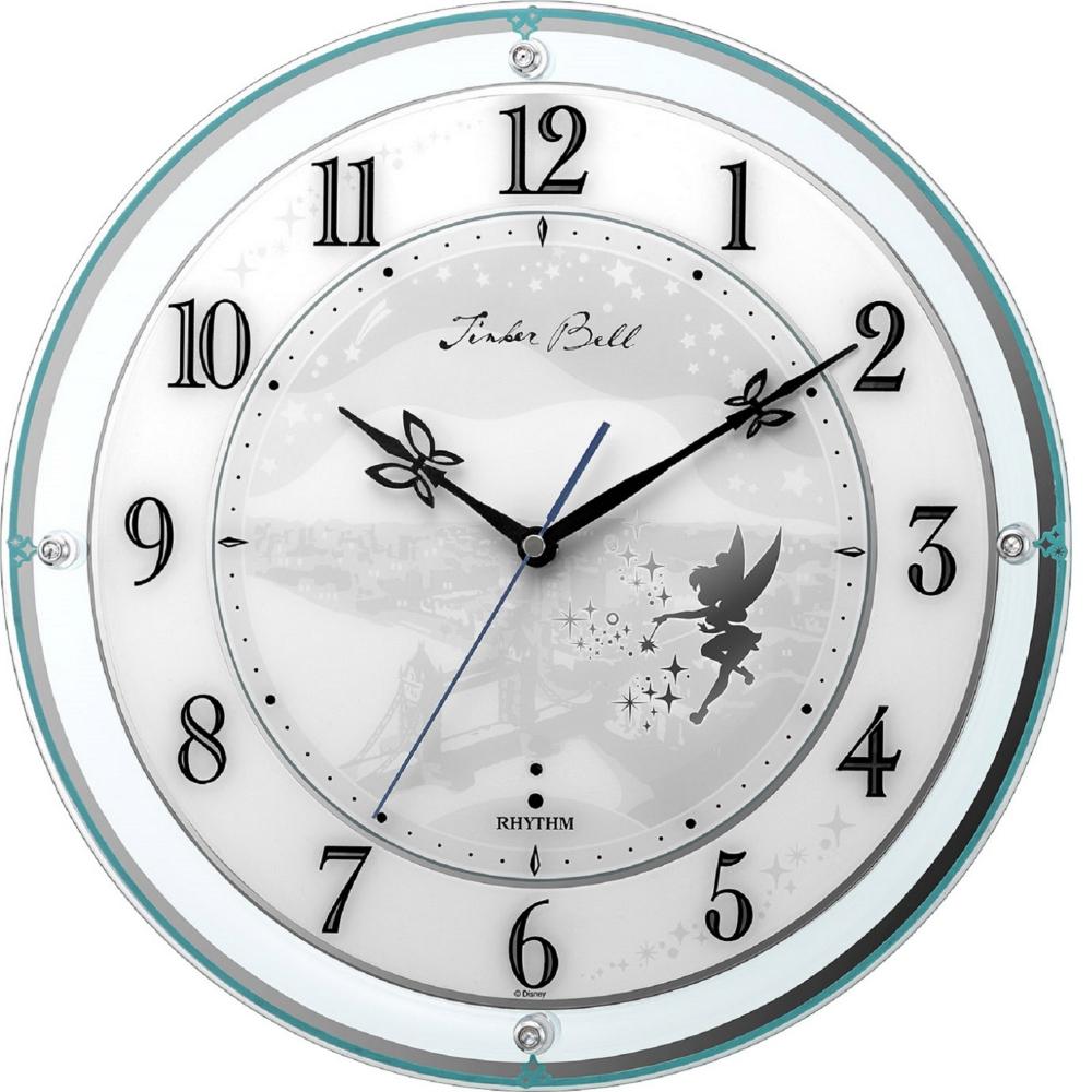 【送料無料】ティンカー・ベル 高感度電波掛時計