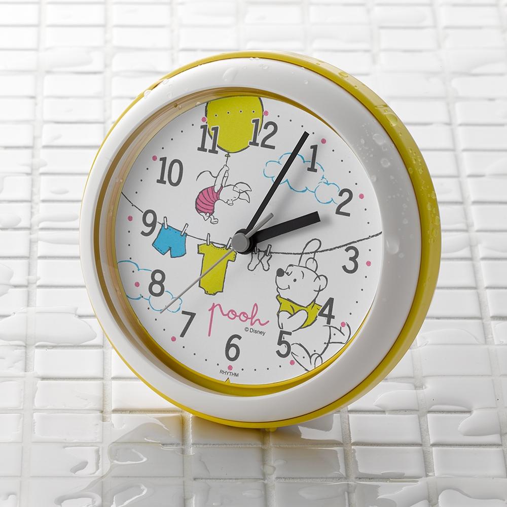 くまのプーさん お風呂時計(強化防滴・防塵タイプ)