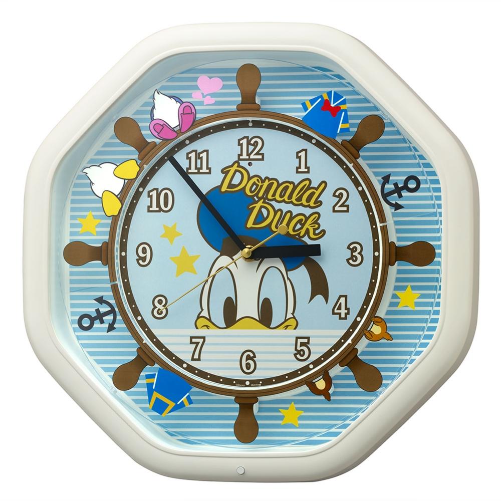 【送料無料】ドナルドダック からくり掛時計(4曲メロディ入り)
